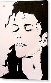 Michael Jackson Acrylic Print by Gopal Maheshwari