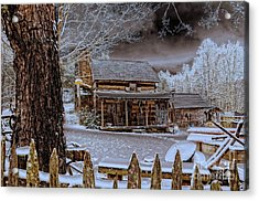 Acrylic Print featuring the photograph Feel The Warmth by Brenda Bostic