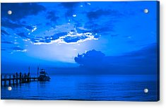Acrylic Print featuring the photograph Feeling Blue by Phil Abrams