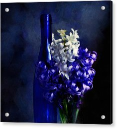 Feeling Blue Acrylic Print by Georgiana Romanovna