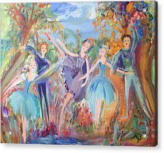 Feeling Of Completeness Acrylic Print by Judith Desrosiers