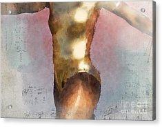 Feeling The Beat Acrylic Print by Betty LaRue