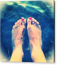 Feet! Acrylic Print