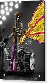 Fela Afrobeat Kuti Acrylic Print by Sasank Gopinathan
