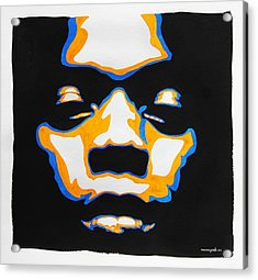 Fela. The First Black President. Acrylic Print