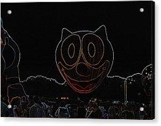 Felix In Neon Acrylic Print