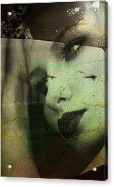 Fell So Deep  Acrylic Print by Jerry Cordeiro