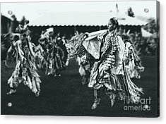 Female Fancy Dancer Acrylic Print by Scarlett Images Photography