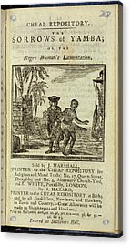 Female Slave Acrylic Print by British Library