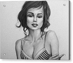 Female Study 32 Acrylic Print by Donovan Hubbard
