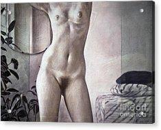 Female Torso Acrylic Print
