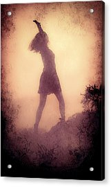 Feminine Freedom Acrylic Print by Loriental Photography