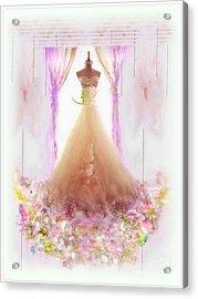 Feminist Bouquet Acrylic Print by Freddy Kirsheh