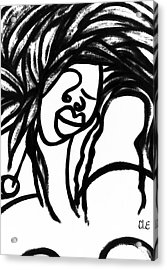 Femme One Acrylic Print