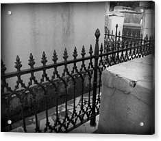 Fenced In Acrylic Print by Beth Vincent