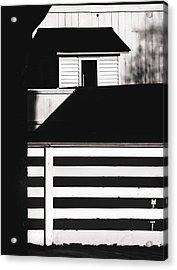 Fences Acrylic Print