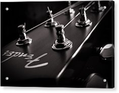 Fender Acoustic I Acrylic Print by Bob Orsillo
