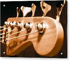 Fender Jazz Acrylic Print