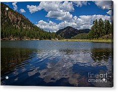 Fenton Lake Reflections Acrylic Print by Jim McCain