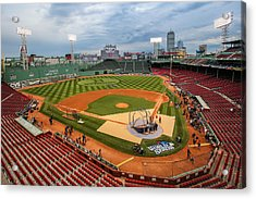 Fenway Before The Storm Acrylic Print