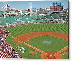 Fenway One Hundred Years Acrylic Print by Barbara McDevitt
