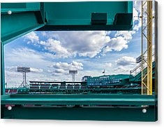 Fenway Park From The Green Monster Acrylic Print by Tom Gort