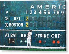 Fenway Park - Green Monster Acrylic Print