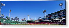 Fenway Park- Home Of The Boston Red Sox Acrylic Print by Diane Diederich