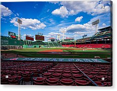 Fenway Park Acrylic Print by Tom Gort