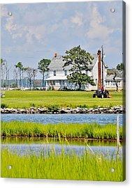 Fenwick Island Farmhouse - Delaware Acrylic Print by Kim Bemis
