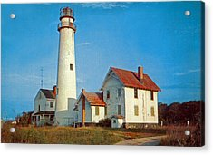 Fenwick Island Lighthouse 1950 Acrylic Print