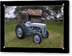 Acrylic Print featuring the photograph Fergie Tractor by Keith Hawley