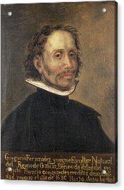 Fernandez, Gregorio 1576-1636. Spanish Acrylic Print by Everett