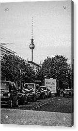 Fernsehturm-tower Acrylic Print by Chris Smith