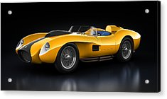 Ferrari 250 Testa Rossa - Bloom Acrylic Print by Marc Orphanos