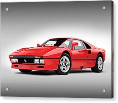 Ferrari 288 Gto Acrylic Print by Gianfranco Weiss