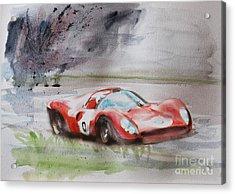 Ferrari 330p4 Spyder  Acrylic Print