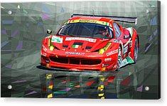 2012 Ferrari 458 Gtc Af Corse Acrylic Print