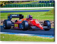 Ferrari At Phillip Island Acrylic Print