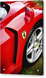 Ferrari Enzo Acrylic Print by Phil 'motography' Clark