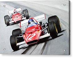 Ferrari  F1 1970 Acrylic Print