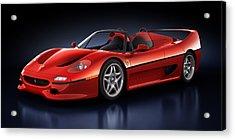 Ferrari F50 - Phantasm Acrylic Print