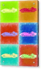 Ferrari Testarossa Pop Art 2 Acrylic Print by Naxart Studio