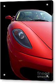 Acrylic Print featuring the photograph Ferrari by Vicki Spindler