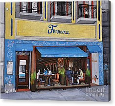 Ferreira Cafe  Acrylic Print by Reb Frost