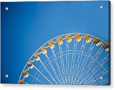 Ferris Wheel 3 Acrylic Print by Rebecca Cozart
