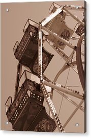 Ferris Wheel Acrylic Print by Beth Vincent