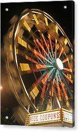 Ferris Wheel Acrylic Print by Brandon Tabiolo