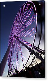 Ferris Wheel Acrylic Print by Chris Babcock