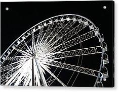 Ferris Wheel Acrylic Print by Nawarat Namphon